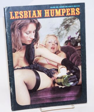 Lesbian Humpers: vol. 1, #1 Adults Only