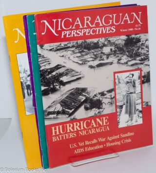 Nicaraguan Perspectives [12 issues of the magazine]