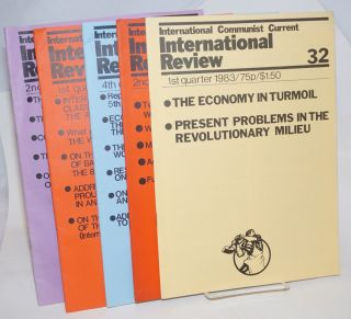 International Review [5 issues]. International Communist Current
