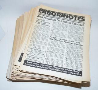 Labor Notes [125 issues