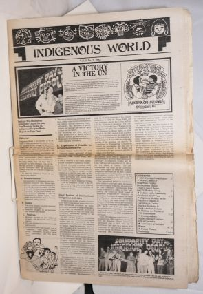 Indigenous world. Vol. 2 no. 1