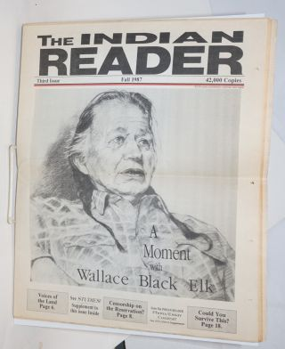 The Indian reader. Third issue (Fall 1987