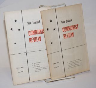 New Zealand Communist Review [Two issues: June 1965, May 1966