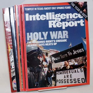 Intelligence Report [6 issues of the magazine]. Mark Potok, Intelligence Project Director