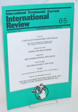International Review Number 65. 2nd Quarter 1991. Marc Leroy, Responsible