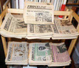Frontline [150 issues of the newspaper]. Max Elbaum, Irwin Silber