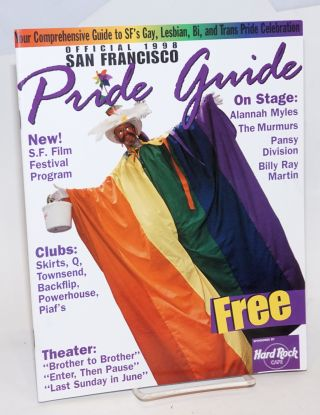 Official 1998 San Francisco Pride Guide. Heather Findlay