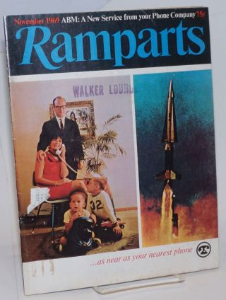 Ramparts, Volume 8, Number 5, November 1969. Jan Austin, David Horowitz, Peter Collier, eds David...