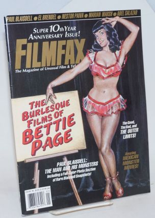 The Burlesque Films of Bettie Page [cover title]; Black Bangs & Burlesque, The A-Peeling Movies...