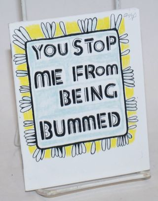 You Stop Me from Being Bummed. Maria Forde, author /