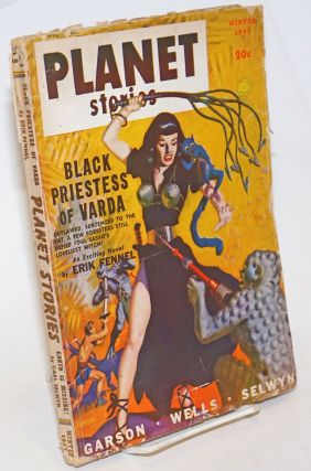 Black Priestess of Varga, A gripping, full-length novel of a magic outer world [in] Planet...