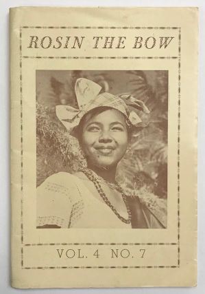 Rosin the bow: a publication for folk and square dancers. Vol. 4 no. 7 (Second quarter 1952