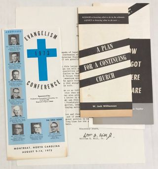[Five items related to conservative Presbyterian resistance to social reform]