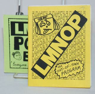"LMNOP, the Out-Of-Town Program [with] the LMNOP Pocket Book ""Everyone should carry a pocketbook!""..."