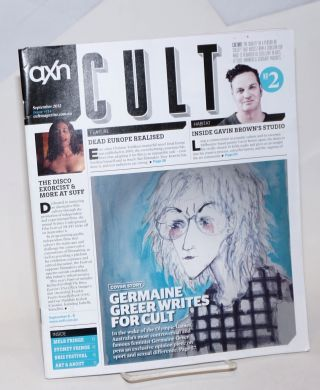 AXN Cult Magazine: #114 (#2) September 2012; Germaine Greer writes for Cult. Garrett Bithell,...