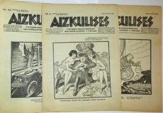 Aizkulises [three issues