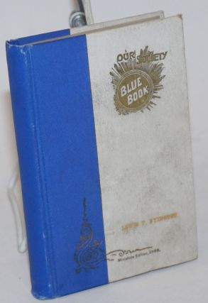 Our Society Blue Book --Miniature Edition, of the San Francisco Blue Book, Containing Selected...