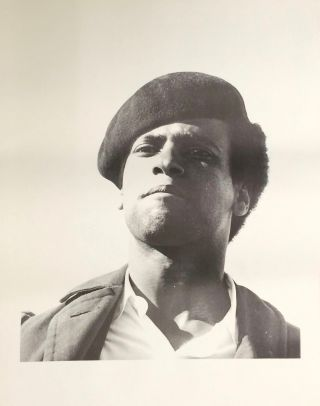 Poster depicting Huey Newton