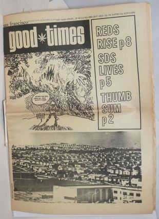 San Francisco Good Times; Vol. 3, No. 39, Oct. 2, 1970