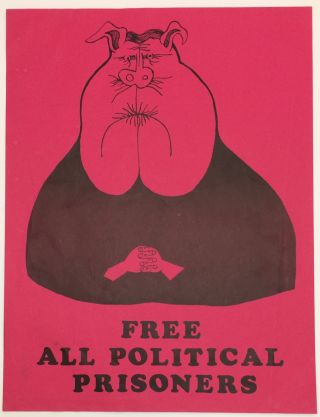 Free all political prisoners [poster
