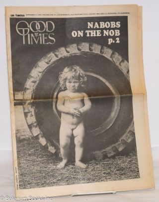 San Francisco Good Times; Vol.2, no.35, Sept 11, 1969