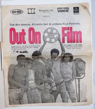 The 8th Annual Atlanta Gay & Lesbian Film Festival: Out on Film October 11-15 1995, AMC Theatre,...