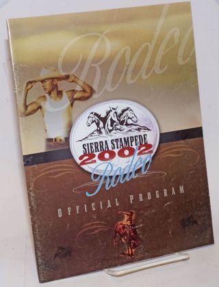 Sierra Stampede Rodeo 2002 official program