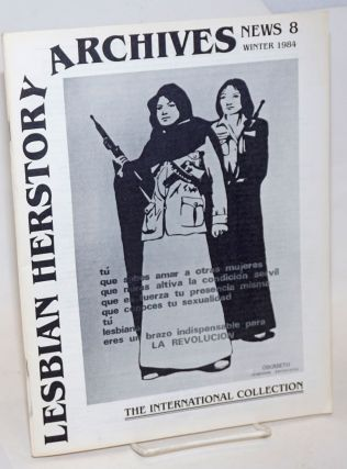 Lesbian Herstory Archives: newsletter #8, Winter, 1984; the international collection