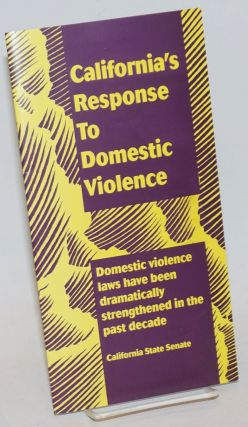 California's response to domestic violence. Kate Sproul