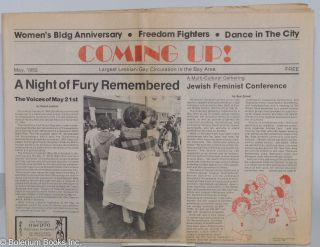 Coming up! May 1982; a night of fury remembered; the voices of May 21st. Kim Corsaro, Sue Zemel...