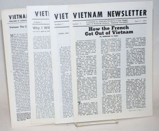 Vietnam Newsletter [four issues