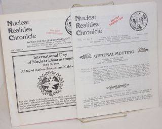 Nuclear realities chronicle [two issues: 2:8 and 3:6