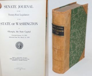 Senate Journal of the Twenty-First Legislature of the State of Washington at Olympia, the State...