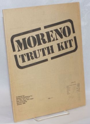 Moreno truth kit. Spartacist League.