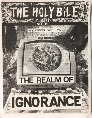 The Holy Bile. No. 8