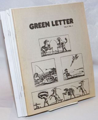 Green Letter [continuing as Ground Work; six issues