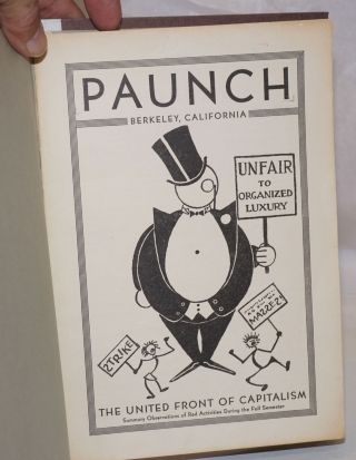 Paunch, Berkeley, California. The United Front of Capitalism, summary observations of red...