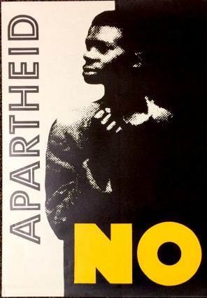 Apartheid NO [poster