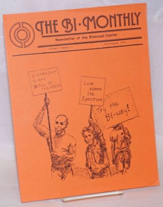 The Bi-monthly: newsletter of the Bisexual Center; vol. 8, #4, Jul/Aug 1984