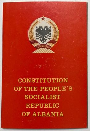 Constitution of the People's Socialist Republic of Albania. Albania
