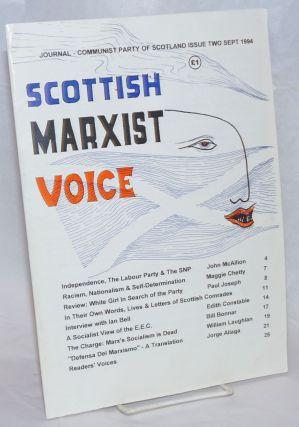 Scottish Marxist Voice: Journal of the Communist Party of Scotland. Issue Two Sept 1994. Maggie...