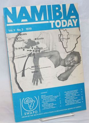 Namibia today; Organ of the South West Africa People's Organization, vol. 3, no. 3