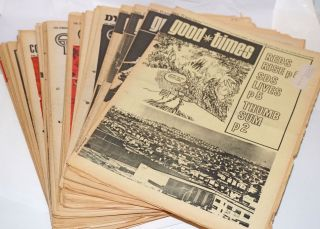 San Francisco Good Times, 1970 broken run (37issues) Jan 1 - Dec. 11, 1970. Good Times Commune