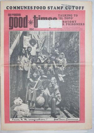 San Francisco Good Times; Vol.5, no.1 (Jan. 1-13, 1972