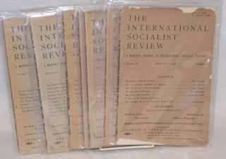 The international socialist review [seven issues from 1906