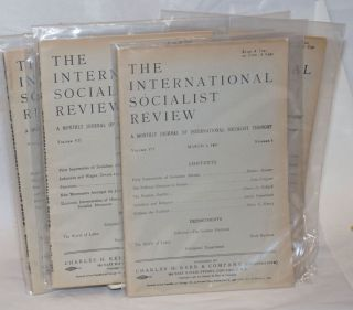 The international socialist review [eight issues from 1907