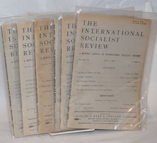 The international socialist review [eight issues from 1907]