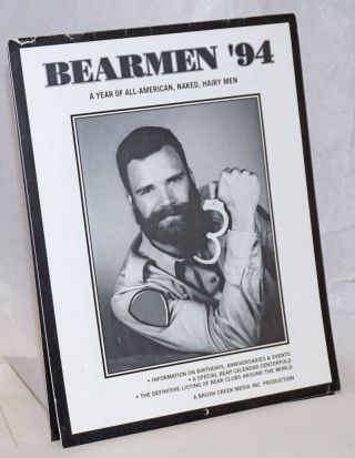 Bearmen '94: a year of all-American, naked, hairy men [calendar