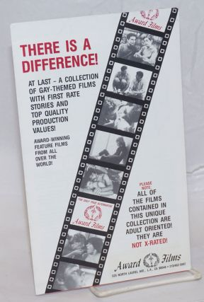 There is a Difference! At las - a collection of gay-themed films with first rate stories and top...