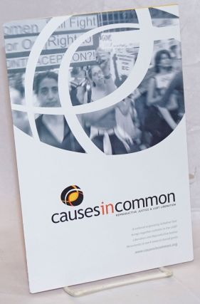 Causes in Common: reproductive justice & LGBT liberation [brochure